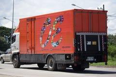 Privat Hino lastlastbil Fotografering för Bildbyråer