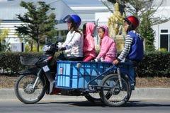 Privat Honda dröm Motercycle Arkivfoton