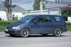 Privat Honda Odyssey skåpbil Royaltyfria Bilder