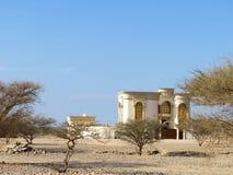 Privat hus för emirater Arkivfoto