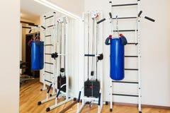 Privat idrottshall hemma Royaltyfri Foto