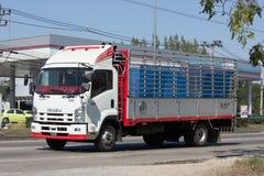 Privat Isuzu Cargo lastbil Royaltyfri Bild