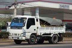 Privat Isuzu Cargo lastbil Royaltyfria Foton