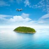 privat jet Royaltyfri Fotografi