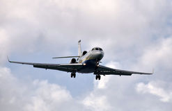 Privat jet Royaltyfria Foton