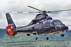 Privat landning för DAUPHIN AS365 royaltyfri fotografi