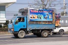 Privat lastbil för Mitsubishi Canterlast Arkivbilder
