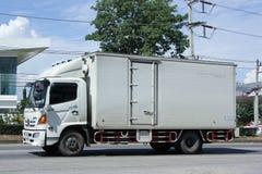 Privat lastlastbil Fotografering för Bildbyråer