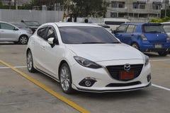 Privat Mazda3 2016 Arkivfoto