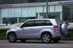 Privat Mini Suv bil, Suzuki Grand Vitara Arkivbilder