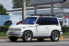 Privat Mini Suv bil, Suzuki Vitara Royaltyfria Bilder