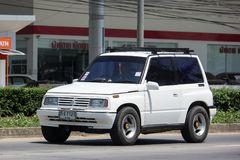 Privat Mini Suv bil, Suzuki Vitara Fotografering för Bildbyråer