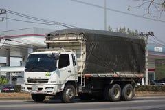 Privat Mitsubishi Fuso lastlastbil Royaltyfri Foto