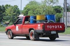 Privat olje- väljer upp lastbilen Royaltyfria Bilder
