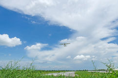 Privat propellernivå arkivbild