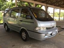 Privat skåpbil KIM Transporter royaltyfri foto