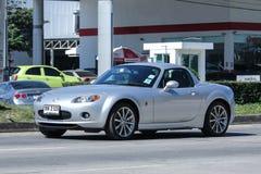 Privat sportig bil, Mazda MX5 Royaltyfria Foton