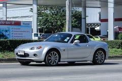 Privat sportig bil, Mazda MX5 Fotografering för Bildbyråer