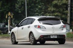Privat stadsbil, Mazda 3 Royaltyfria Foton