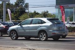 Privat Suv bil Lexus RX300 Royaltyfri Fotografi