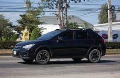 Privat Suv bil, Subaru Crosstrek Arkivbild