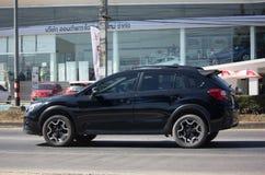 Privat Suv bil, Subaru Crosstrek Arkivfoto