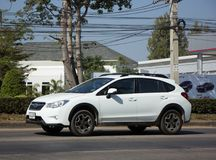 Privat Suv bil, Subaru Crosstrek Royaltyfri Fotografi
