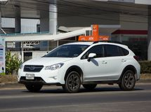 Privat Suv bil, Subaru Crosstrek Arkivbilder