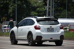 Privat Suv bil, Subaru Crosstrek Arkivfoton