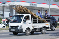 Privat Tata City Giant Mini lastbil Arkivbild