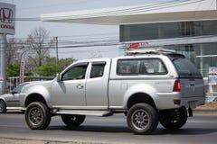 Privat Tata Xenon Pickup lastbil Arkivfoto