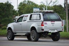 Privat Tata Xenon Pickup lastbil Arkivbild