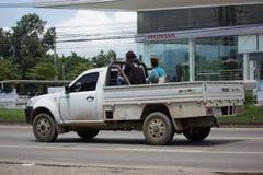 Privat Tata Xenon Pickup lastbil Arkivfoton