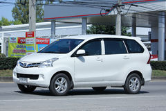 Privat Toyota Avanza bil Royaltyfria Bilder