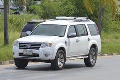 Privat uppsamlingsbil, Ford suv Arkivfoto