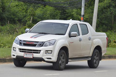 Privat uppsamlingsbil, ISUZU D-MAX Royaltyfria Bilder