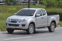 Privat uppsamlingsbil, ISUZU D-MAX arkivfoton