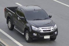 Privat uppsamlingsbil, Isuzu D-maximal lastbil royaltyfri foto