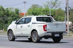 Privat uppsamlingsbil, Nissan Navara Double taxi arkivbilder