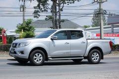 Privat uppsamlingsbil, Nissan Navara Double taxi royaltyfri fotografi