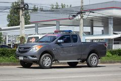 Privat uppsamlingsbil, pro-Mazda BT-50 Royaltyfri Foto