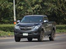 Privat uppsamlingsbil, pro-Mazda BT-50 Arkivbild