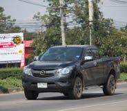 Privat uppsamlingsbil, pro-Mazda BT-50 Royaltyfri Bild