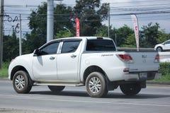 Privat uppsamlingsbil, pro-Mazda BT-50 Fotografering för Bildbyråer