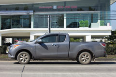 Privat uppsamlingsbil, pro-Mazda BT-50 Royaltyfri Fotografi