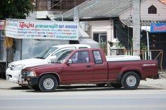 Privat uppsamlingsbil, Toyota Hilux tiger Royaltyfria Bilder