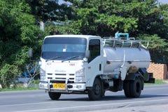 Privat vom Abwasser-LKW Lizenzfreies Stockbild