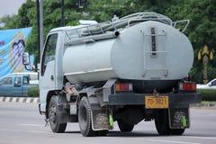 Privat vom Abwasser-LKW Lizenzfreie Stockfotos