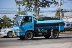 Privat vom Abwasser-Tankwagen Stockbilder