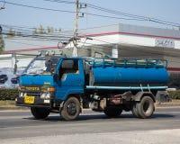Privat vom Abwasser-Tankwagen Lizenzfreie Stockbilder